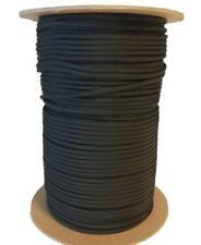 5 metros Cuerda paracord 4 mm tipo III 550 negra - black cord