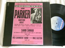 LEO PARKER Late Great King Sahib Shihab Chess LP Kenny Clarke Ake Persson