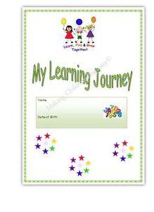 MY LEARNING JOURNEY/ JOURNAL* EYFS childminder, pre school resource.