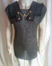 Roman Chain mail Hamata Armour Knight Renaissance Steel Material, Ring Size