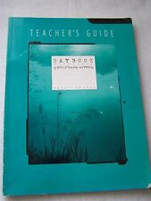 Great Source Daybook of Critical Reading and Writing Grade 7 Teacher's Guide