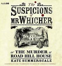 The Suspicions of Mr Whicher (BBC Audiobooks),Summerscale, Kate,New Book mon0000