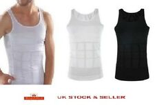 Da Uomo dimagranti Body Shaper Vest Slim Belly Buster Biancheria Intima Di Compressione N Lift
