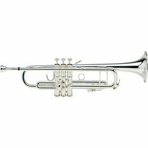 Bach Stradivarius 190 Bb Trumpet - 190S43  Silver 50th Anniversary edition