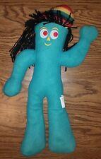 Jamaican Dreadlocks Gumby Green Plush Toy Stuffed Animal