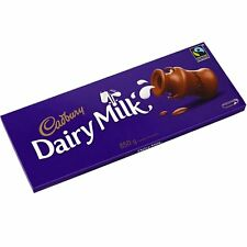 HUGE GIANT CADBURY DAIRY MILK CHOCOLATE BAR - BIGGEST BAR 850g - NEW