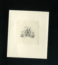 EXLIBRIS, 459a, Friedrich Teubel  - Mühlrad