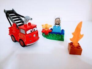 Lego Duplo Cars 6132 Disney pixar Red Fire Engine Toddler