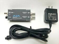 AJA Video Model D4E Serial Digital Encoder with AJA Power Supply
