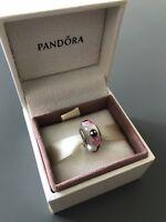 Pink Ladybug Genuine PANDORA murano charm