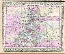 141 maps Colorado state Panoramic genealogy old History atlas Dvd