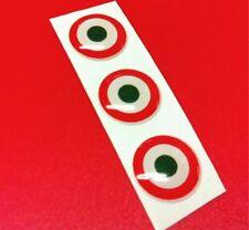 3 Adesivi Resinati Sticker 3D ITALIA target 10 mm