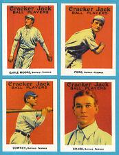 1915 Cracker Jack Reprint Team Sets: Buffalo Federals (Chase)