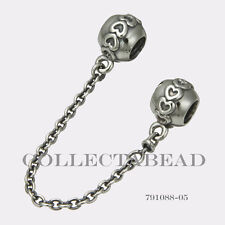 Authentic Pandora Sterling Silver Love Connection Safety Chain 791088-05