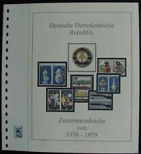 DDR ZD 1976-1979  Vordruck farbig TOP Bilder in Beschreibung