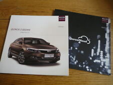QOROS 3 SEDAN CAR BROCHURE jm
