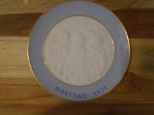 Lladro Navidad 1971 Collectible Plate