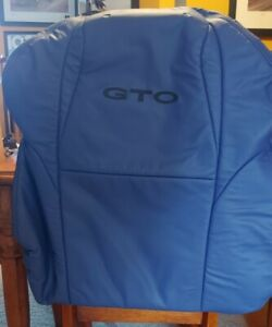 Pontiac GTO 04 05 06 Blue Drivers Side Seat Back New