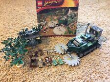 Lego 7626 Indiana Jones Jungle Cutter Manual Retired 100% Complete Set 551pc Set