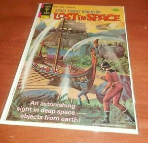 LOST IN SPACE # 47 VG/F GOLD KEY COMIC 1976 SPACE FAMILY ROBINSON