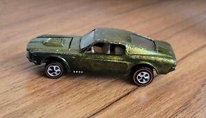 Hot Wheels Redline US '68 Custom Mustang HTF Olive