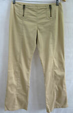 AX Armani Exchange Size 2 or 12 Beige Low Rise Bootleg Casual Pant