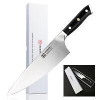 Super 8 inch Chef's Vegetable Knife Ultra-Sharp Liquid Metal 58mm Wide Blade