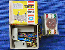 FALLER AMS 4041/4040 Traffic Light Controller And Ground Set for Crossing 4722