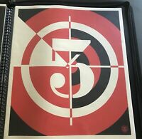 2012 Shepard Fairey Sedation of Millions Obey Giant Print Signed Numbered Mint