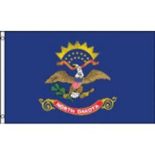 New listing North Dakota State flag Banner Sign 2' x 3 Foot Polyester With grommets