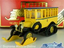 SCANIA VABIS POST OFFICE MODEL BUS 1:49 SCALE YELLOW MATCHBOX Y16 YESTERYEAR K8