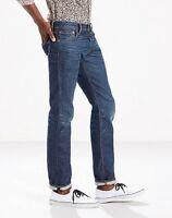 Levi's 511 Premium Selvedge Denim Mens Low Rise Slim Fit Jeans in Stag NEW 34x34