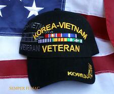 KOREAN VIETNAM WAR KOREA HAT CAP RIBBONS US ARMY MARINES NAVY AIR FORCE PIN UP