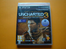 PS3 Uncharted 3: Drake's Deception -- Game of the Year Edition