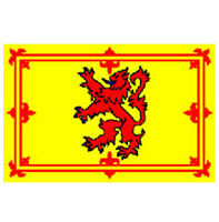 SCOTTISH NATIONAL FLAG, LARGE 5 x 3FT LION OF SCOTLAND FANS SUPPORTERS FLAG