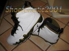 promo code e2792 0cea2 Jordan Retro 9 Un Nike Air Fragment 302370-109 milicia Blanco Negro Verde