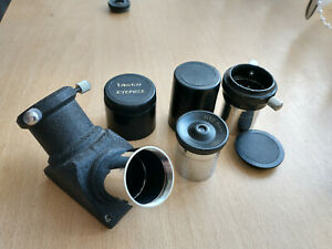 Telescope 0.965mm Eyepiece Set - 90% Diaginal/12.5mm Eyepiece/2-3x Barlow Lens