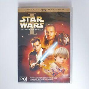 Star Wars I The Phantom Menace Movie DVD Region 4 AUS Free Postage