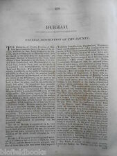 1819 Wiltshire County James Dugdale British Traveller Disbound Section