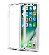 For Apple iPhone 10 X Case Soft Silicone Gel Clear Transparent Premium 1Cover