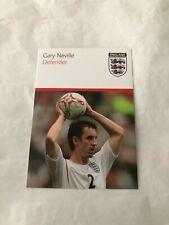 Spelerskaart Topspieler England Gary Neville