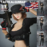 """1/6 Tactical Military Combat Suit Set 12"""" For PHICEN Hot Toys Female Figure USA"""
