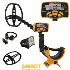 "Garrett Ace 400 Metal Detector With 3 Free  Items & 8.5x11"" DD Waterproof Coil"
