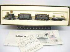 Minitrix 11087 Glaskasten PtL 2/2  Zugset, 2 x Personen, 1 x Güterwagen TOP! OVP
