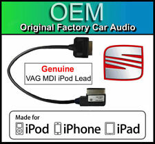 Seat RCD 510 DAB iPod iPhone iPad cable, Echt VAG Part MDI kit media in lead