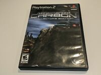 NEED FOR SPEED CARBON: COLLECTOR'S EDITION 2-Disc Playstation 2 Video Game w DVD