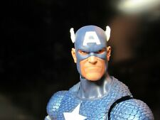 HEAD ONLY Marvel Legends Custom painted Head Captain America