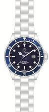 Diver's Automatic Watch 30 Bar WD Massive in Azure Blue New Series XL LARGE 45mm