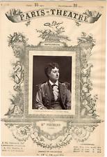 Lemercier, Paris-Théâtre, Marie Blanche Renouleau dite Mme Peschard (1843-1888),