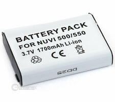 Battery for Garmin Nuvi 500 Aera 500 Zumo 600  010-11143-00 361-00038-01